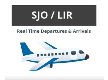 Costa Rican Airports Departures/Arrivals
